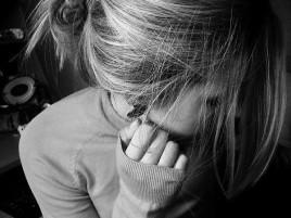 Девушка после разрыва отношений